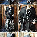 Boheme chic : les filles d'ailleurs, jupes, robes, veste, manteaux... doudoune rundholz