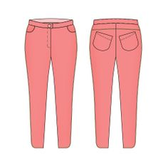 Kepa - le pantalon slim ( Blousette Rose )