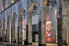 OBRAZEM: vánoční La Rinascente v Miláně