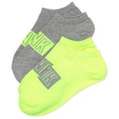 Victoria's Secret PINK Ankle Socks Set ($8.94) ❤ liked on Polyvore featuring intimates, hosiery, socks, victoria's secret, stripe socks, low cut socks, ankle socks, tennis socks and striped ankle socks