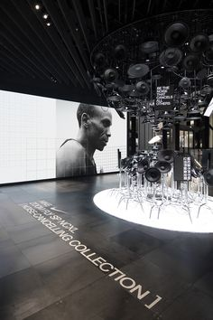 Nike Noise Cancelling Collection @ House of Innovation Exhibition Display, Museum Exhibition, Exhibition Space, Gym Design, Facade Design, Music Museum, Industrial Office Design, Interior Fit Out, Window Display Design