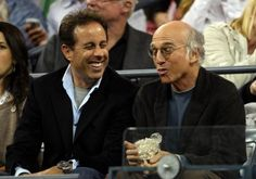 jerry seinfeld and larry david, the true kings of comedy