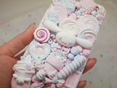 A personal favorite from my Etsy shop https://www.etsy.com/listing/596552477/cinamoroll-kawaii-decoden-phonecase-fake