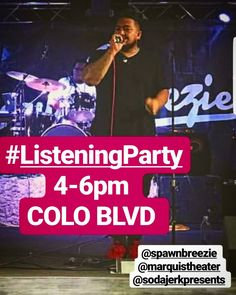 #Spawnbreezie #ListeningParty You know you want to win some passes!!! Come on down today between 4-6pm at Colorado Blvd! . . . . . #headshop #colorado #coloradolife #denvercolorado #greattimes #reggae #goodmusic #goodtoons