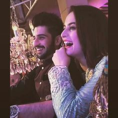 Recent Picture of Lovely Couple Aiman Khan and Muneeb Butt at A Party! ❤ #Beautiful #Lovely #PrettyGirl #AimanKhan #MubeebButt #Aineeb #LoveThem #PakistaniActresses #PakistaniCelebrities  ✨