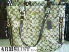 coach, conceal n carry purses...OMG if I ever get my conceal & carry I'm going to have to get this!!