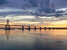 Puente del General Manuel Belgrano - Corrientes Ushuaia, Landscape Photos, Country, Four Square, Sunrise, Exotic, Bridge, Nu Skin, Amelia