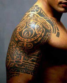 Tattoo-- Dwayne Johnson The Rock