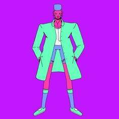 """Check out this @Behance project: """"4 Urban Characters"""" https://www.behance.net/gallery/56798275/4-Urban-Characters"""