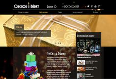 Výroba webových stránek www.obchod-s-darky.com