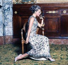 Portrait of Romy Schneider, 1960's