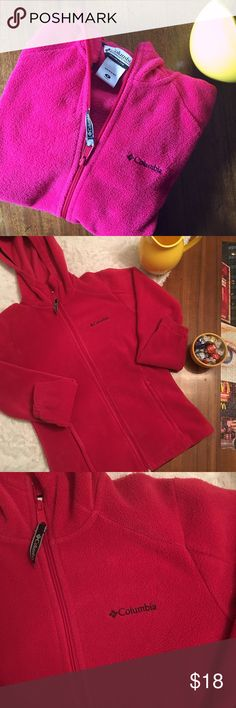 COLUMBIA • Benton Springs Full Zip Fleece Columbia Benton Springs Full Zip Fleece Jacket in Bright Rose (Hot Pinkish Color) • First Picture is True to Color • Zippered Pockets • Inside Pockets • Adjustable Waist • Size Small • Modern Classic Fit • 100% Polyester • Versatile Everyday Style 😍 Columbia Jackets & Coats
