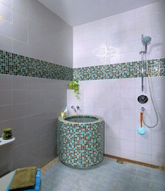 model sederhana dengan bak  #kamar mandi #minimalis #desain