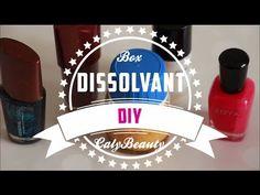 ✮ DIY ✮ Box Dissolvant ✮  | Caly Beauty