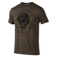 This T-Shirt from Oakley features military inspired graphics, and is constructed with O Hydrolix fabric that wicks away sweat to help keep you dry. O Hydrolix f