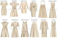 Tipos de vestidos