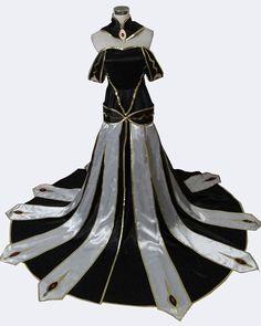 FOCUS-COSTUME Code Geass Queen Dress Cosplay Costume -- For more information, visit image link.