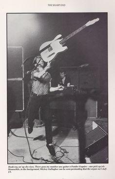 Joe Strummer on stage, 1979. #the clash #joe strummer #on stage
