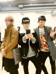 Taehyung, Jimin & Rap Monster [BTS]