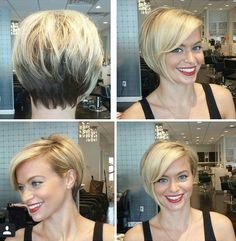 This is pretty much the style I have right now - and I love it!! It's really versatile and so easy to manage. I have a thick head of fine, somewhat wavy hair and texturing is the way to go!!!