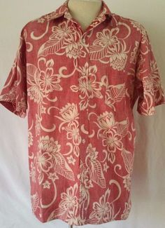 2b6b88f6 Regular Floral 2XL 100% Cotton Casual Shirts for Men | eBay. Mens Hawaiian  ...