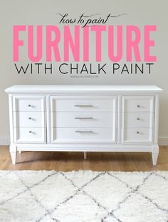 How To Paint Furniture with Chalk Paint (and how to survive a DIY disaster). (via Bloglovin.com )