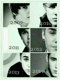 Supporting Justin Bieber ever since 2009 and will forever.