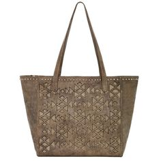 American West Azteca Distressed Charcoal Brown Handbag - HeadWest Outfitters