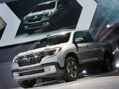 The 2017 Honda Ridgeline RTL- E is introduced during