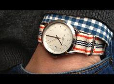 L'accessoire casual ultime ! La montre à bracelet NATO. Ces bracelets interchangeables à l'infini apportent une touche décontracté à votre style et changent des bracelets en cuir et en métal.