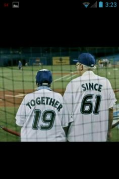 I want to do this one day for my girlfriend and go to a baseball game wearing those shirts