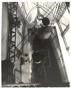 Photograph Looking Down in Emergency Control Station of a Dirigible , ca. 1933 by The U.S. National Archives, via Flickr