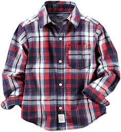Boys' Woven Buttonfront 243g583 * Read more  at the image link.(It is Amazon affiliate link) #like4like