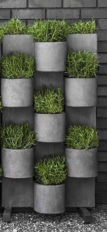 Campania International Fiber Cement Garden Anywhere Vertical Garden System 2