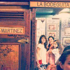 La Bodeguita del Medio ❤️ #mojito #hemingway #tbt #cuba #family #lovethisplace #bodeguitadelmedio #habana #history