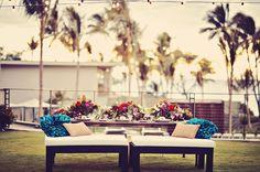 Andaz Maui at Wailea - Hawaii Venues - Contemporary outdoor beach wedding reception