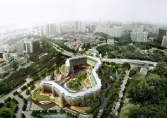 SPARK Proposes Vertical Farming Hybrid to House Singapore's Aging Population