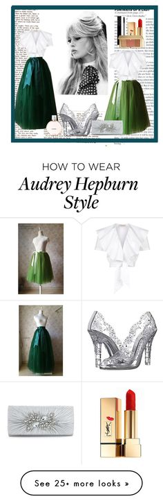 """""""DressromanticII-4"""" by zijadaahmetovic on Polyvore featuring Temperley London, GE, Dolce&Gabbana, Gucci, Yves Saint Laurent, Estée Lauder and Chanel"""