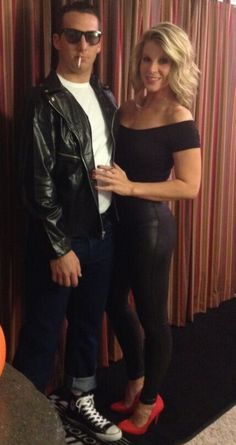 Halloween couples outfit. Danny & Sandy from Grease