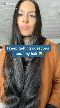 Hair products, hair routine