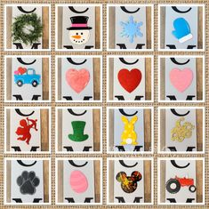 Christmas Gift Decorations, Christmas Gifts, Holiday Decor, Glitter Hearts, Pink Glitter, Sandwich Board Signs, Leprechaun Hats, Bunny Tail, Christmas Truck