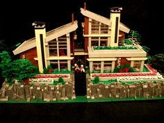 Shenandoah house: A LEGO® creation by Boise Bro : MOCpages.com