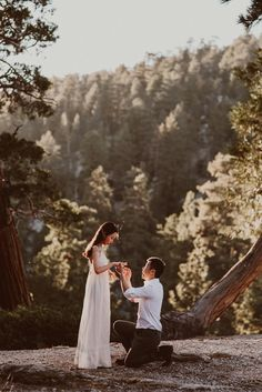 Proposal in Mountains