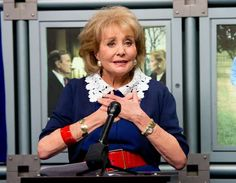 "May 16, 2014: BARBARA WALTERS SIGNS OFF  -    Broadcast journalist and TV personality Barbara Walters retires from ABC News and as co-host of the daytime program ""The View."""