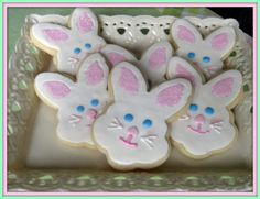 easter egg sugar cookies | for years i ve made easter egg sugar cookies decorated with several ...