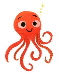 little octopus only has six legs, what happened to the other two? art by jared chapman
