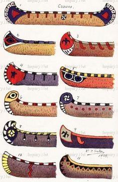 Les canoës - Histoire                                                                                                                                                                                 Plus
