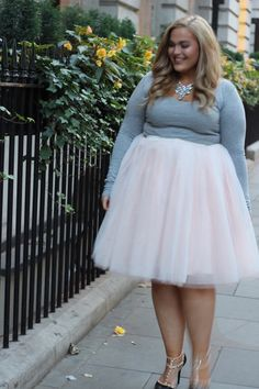 Plus Size Clothing for Women - Loey Lane Blush Tutu - Society+ - Society Plus - Buy Online Now! - 1