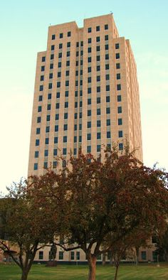 The capitol skyscraper at Bismarck, ND  http://www.healthsourceofbismarcksouth.com