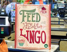 """Check out new work on my @Behance portfolio: """"Feed Your Lingo"""" http://on.be.net/1FnmRrk"""